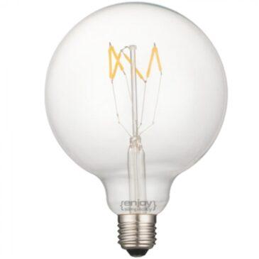 LED FILLAMENT CLEAR G125-6 5W E27 2700k 600lm (EL827007)