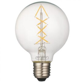 LED FILLAMENT CLEAR G95-8 3W E27 2700k 350lm (EL827010)