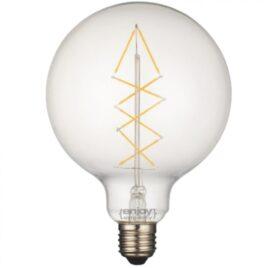 LED FILLAMENT CLEAR G125-8 5W E27 2700k 650lm (EL827011)