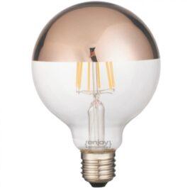 LED FILLAMENT CLEAR G125-8 6.5W E27 2700k 680lm (EL827012)