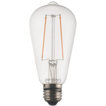LED FILLAMENT DIM CLEAR ST64-2 2.5W E27 2700k 200lm (EL827101)