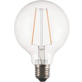 LED FILLAMENT DIM CLEAR G95-2 2.5W E27 2700k 200lm (EL827102)