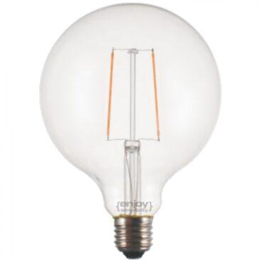 LED FILLAMENT DIM CLEAR G125-2 2.5W E27 2700k 200lm (EL827103)