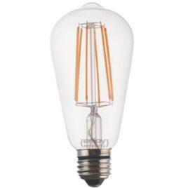 LED FILLAMENT DIM CLEAR ST64-6 6W E27 2700k 550lm (EL827107)