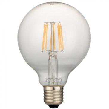LED FILLAMENT DIM CLEAR G125-8 7W E27 2700k 820lm (EL827112)
