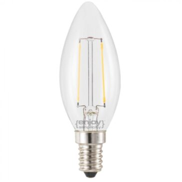 LED FILLAMENT DIM CLEAR B35-2 2W E14 2700k 200lm (EL827351)