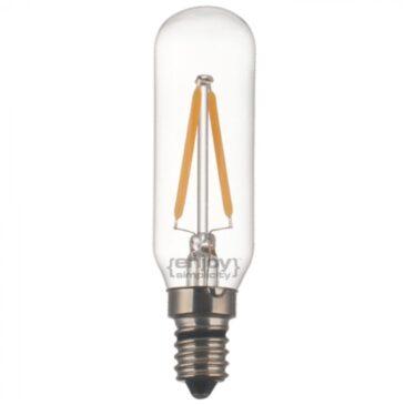 LED FILLAMENT DIM CLEAR T25-2 2W E14 2700k 160lm (EL827901)