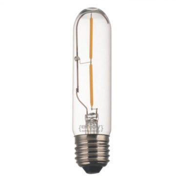 LED FILLAMENT CLEAR T30-2 2W E27 2700k 160lm (EL827902)