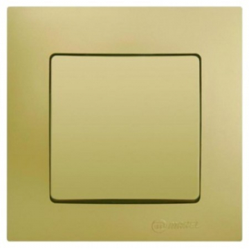 Διακόπτης A/R aller-retour Χωνευτός Χρυσό Ματ (32057105)