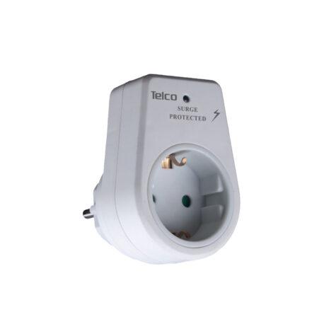 Telco Αντάπτορας σούκο με προστασία υπέρτασης KF-GZBD-01/01