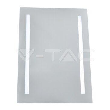 V- TAC LED Καθρέφτης Αντιθαμβωτικός Tετράγωνος με Φωτιστικό 6W Ψυχρό Λευκό 40451 (40451)