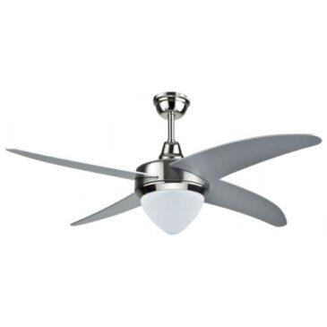 Ανεμιστήρας Οροφής V-TAC 60W με 4 πτερύγια μαζί με Φωτιστικό LED 15W  Χρώμα 3 σε 1 Ρυθμιζόμενος με RF control 7915 (7915)