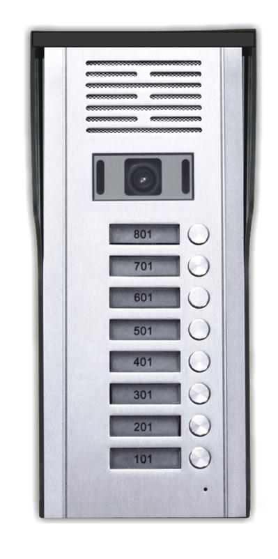 Κάμερα Θυροτηλεόρασης 8 Πλήκτρων CRL-618-8AV