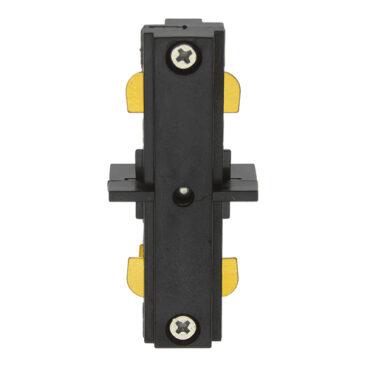 Διφασικός Connector 3 Καλωδίων Συνδεσμολογίας Γιώτα (Ι) για Μαύρη Ράγα Οροφής GloboStar 93130